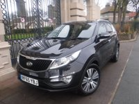 USED 2015 65 KIA SPORTAGE 1.7 CRDI 3 SAT NAV ISG 5d 114 BHP ****FINANCE ARRANGED****PART EXCHANGE WELCOME*LEATHER*PAN ROOF*CRUISE*NAV*SERVICE HISTORY*REAR PS WITH CAMERA