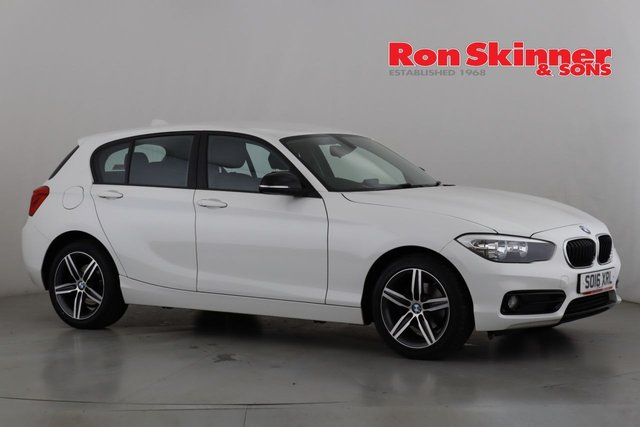 View our 2016 16 BMW 1 SERIES 2.0 118D SPORT 5d 147 BHP