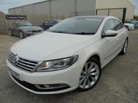 USED 2013 63 VOLKSWAGEN CC 2.0 GT TDI BLUEMOTION TECHNOLOGY 4d 138 BHP Excellent Condition, No Deposit Finance Available, Part Ex Welcomed