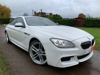 2012 BMW 6 SERIES 3.0 640D M SPORT GRAN COUPE 4d 309 BHP £15450.00