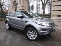 USED 2012 62 LAND ROVER RANGE ROVER EVOQUE 2.2 SD4 PURE TECH 5d 190 BHP ****FINANCE ARRANGED****PART EXCHANGE WELCOME*LEATHER*NAV*DUEL SCREEN VIEW*CRUISE*REAR PS*HEATED SEATS*BTOOTH