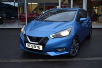 USED 2019 19 NISSAN MICRA 0.9 IG-T ACENTA LIMITED EDITION 5d 89 BHP FINANCE TODAY WITH NO DEPOSIT