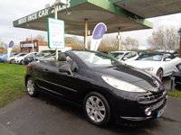 USED 2007 07 PEUGEOT 207 1.6 SPORT COUPE CABRIOLET 2d 118 BHP
