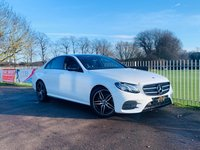 USED 2017 67 MERCEDES-BENZ E CLASS 2.0 E 220 D AMG LINE PREMIUM 4d 192 BHP 1 Owner, Night Edition Premium! Pan Roof, Nav, Rev Cam, Elec Tail!