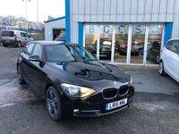 2015 BMW 1 SERIES 2.0 116D SPORT 5d 114 BHP £8750.00