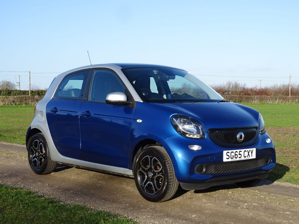 USED 2015 65 SMART FORFOUR 0.9 PRIME PREMIUM T 5d 90 BHP Sat Nav Sunroof Leather