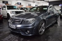 USED 2010 60 MERCEDES-BENZ C CLASS 6.2 C63 AMG 4d 451 BHP STUNNING LOW MILEAGE EXAMPLE - 8 MERCEDES SERVICE STAMPS TO 37K MILES - FULL LEATHER - HEATED SEATS - ELECTRIC SUNROOF