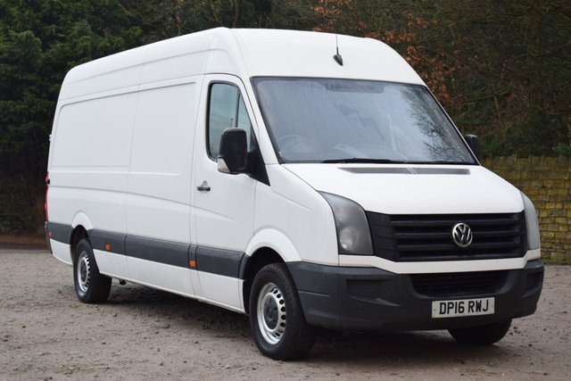 USED 2016 16 VOLKSWAGEN CRAFTER 2.0 CR35 TDI H/R P/V 108 BHP