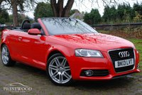 USED 2013 13 AUDI A3 1.2 TFSI S-LINE FINAL EDITION CABRIOLET [STOP/START] [105 BHP]