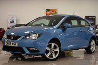 USED 2014 63 SEAT IBIZA 1.4 TOCA 3d 85 BHP STUNNING IBIZA + ONE OWNER + GSH! MUST BE SEEN!