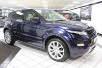 USED 2014 63 LAND ROVER RANGE ROVER EVOQUE 2.2 SD4 DYNAMIC LUX AUTO 190 BHP PAN ROOF FSH 360 CAM 2 X KEYS!