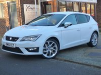 2015 SEAT LEON 2.0 TDI FR TECHNOLOGY DSG 5d 184 BHP SOLD