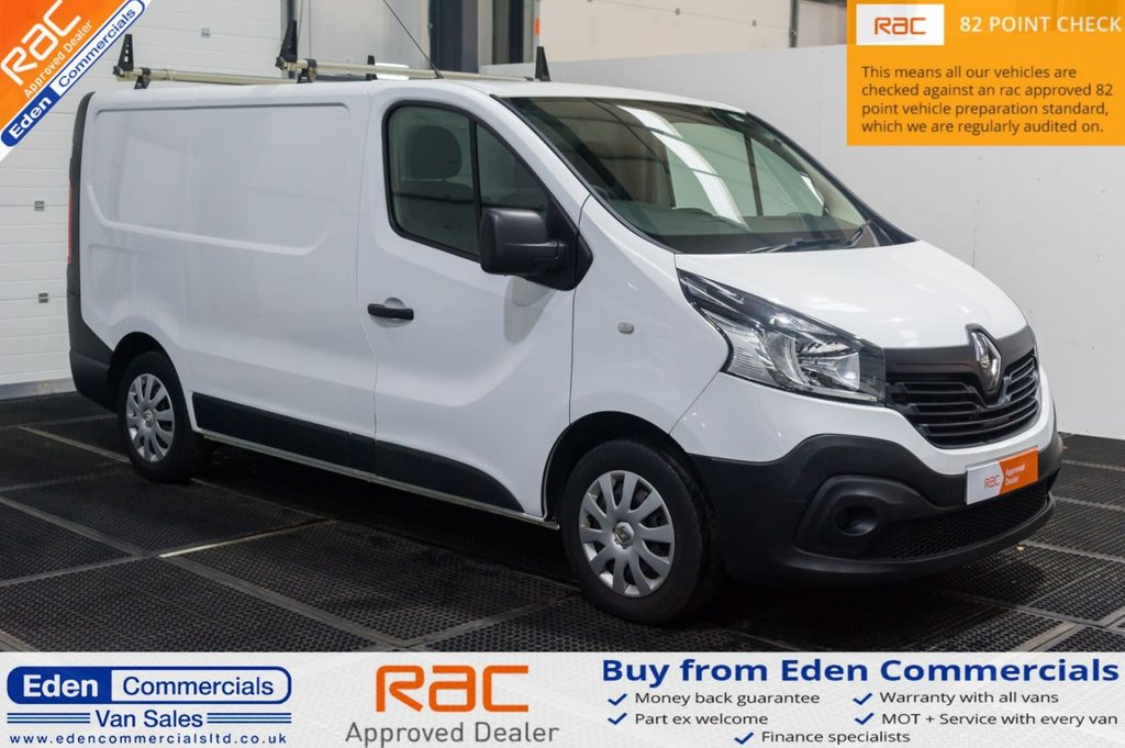 USED 2015 15 RENAULT TRAFIC 1.6 SL29 BUSINESS DCI S/R P/V 115 BHP