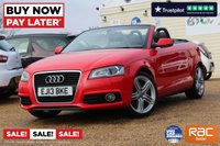 USED 2013 13 AUDI A3 1.6 TDI S LINE FINAL EDITION 2d 105 BHP