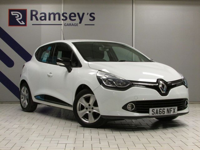 USED 2016 66 RENAULT CLIO 1.5 DYNAMIQUE NAV DCI 5d 89 BHP