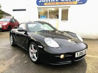 "USED 2006 06 PORSCHE CAYMAN 3.4 24V S 2d 295 BHP Over £6000 Extras, 18"" Wheels, Nav, Factory Collection!"