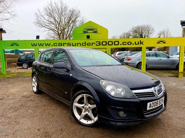 USED 2008 08 VAUXHALL ASTRA 1.9L SRI PLUS CDTI 5d 150 BHP SECURE THIS CAR TODAY FOR ONLY £99 OVER THE PHONE