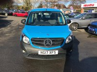 USED 2017 17 MERCEDES-BENZ CITAN 1.5 111 CDI TRAVELINER 5d 110 BHP IN BLUE WITH 29000 MILES AND A FULL SERVICE HISTORY WITH A GOOD SPEC INCLUDING SAT NAV APPROVED CARS AND FINANCE ARE PLEASED TO OFFER THIS MERCEDES-BENZ CITAN 1.5 111 CDI TRAVELINER 5d 110 BHP IN METALLIC BLUE WITH 27000 MILES AND A FULL SERVICE HISTORY AT 1K, AND 23K. THIS VEHICLE HAS A GOOD SPEC SUCH AS BLUETOOTH, POWER STEERING, AIR CONDITIONING, SATELLITE NAVIGATION, CENTRAL LOCKING, PARKING SENSORS (REAR). THIS VEHICLE HAS A GREAT SPEC AND IS IN A IMMACULATE CONDITION NOT A VEHICLE TO BE MISSED FOR FURTHER INFORMATION PLEASE CALL ON  01622871555.