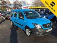 2017 MERCEDES-BENZ CITAN 1.5 111 CDI TRAVELINER 5d 110 BHP IN BLUE WITH 29000 MILES AND A FULL SERVICE HISTORY WITH A GOOD SPEC INCLUDING SAT NAV £10999.00