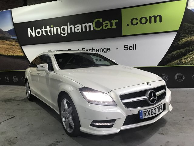USED 2013 63 MERCEDES-BENZ CLS CLASS 3.0 CLS350 CDI BLUEEFFICIENCY AMG SPORT 5d 262 BHP