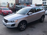 """USED 2013 13 VOLVO XC60 2.4 D4 SE LUX NAV AWD 5DOOR 161 BHP Satellite Navigation   :   USB & AUX Sockets   :   Cruise Control   :   Bluetooth Connectivity      Climate Control / Air Con   :   Electric Driver Seat   :   Full Black Leather Upholstery                  Auto Tailgate   :   Rear Parking Sensors   :   18"""" Alloys   :   Comprehensive Service History"""