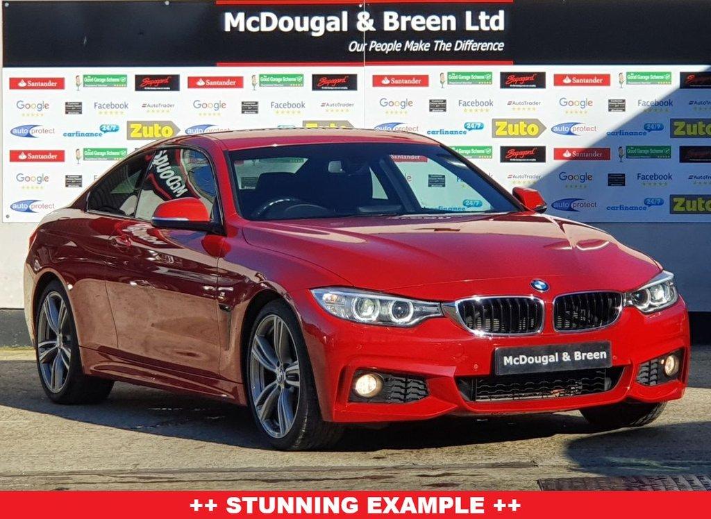 USED 2014 64 BMW 4 SERIES 2.0L 428I M SPORT 2d AUTO 242 BHP