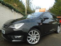 USED 2012 62 SEAT IBIZA 1.2 TSI FR 3d 104 BHP GUARANTEED TO BEAT ANY 'WE BUY ANY CAR' VALUATION ON YOUR PART EXCHANGE