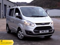 2016 FORD TRANSIT CUSTOM 2.2 290 LIMITED LR DCB 124 BHP £9991.00