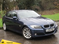 USED 2010 60 BMW 3 SERIES 2.0 320I SE 4d 168 BHP SATELLITE NAVIGATION, ALLOY WHEELS