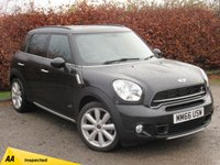 USED 2016 66 MINI COUNTRYMAN 1.6 COOPER S ALL4 5d  * FULL HEATED LEATHER INTERIOR * FOUR WHEEL DRIVE *