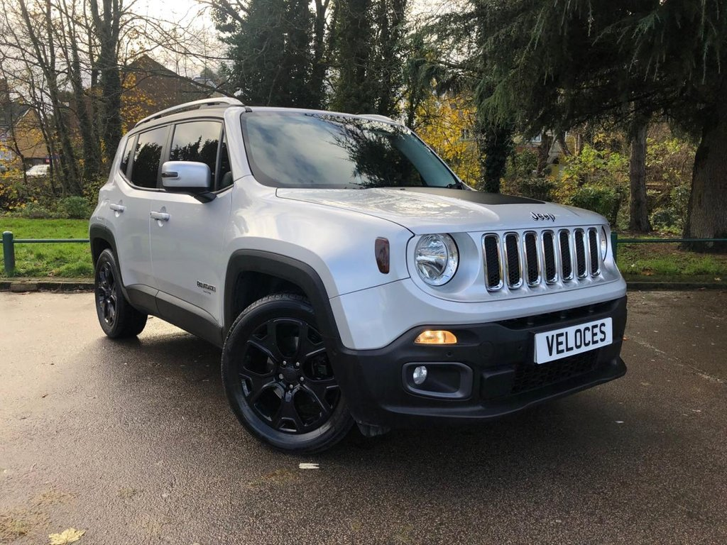 USED 2016 66 JEEP RENEGADE 1.4 LIMITED 5d 138 BHP 1 OWNER FROM NEW