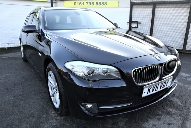 USED 2011 11 BMW 5 SERIES 2.0 520D SE TOURING 5d 181 BHP * LEATHER - SAT NAV - LOW TAX