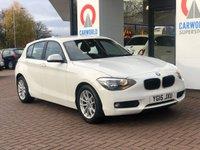 USED 2015 15 BMW 1 SERIES 1.6 116D EFFICIENTDYNAMICS 5d 114 BHP