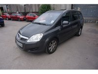 USED 2010 60 VAUXHALL ZAFIRA 1.7 ELITE CDTI ECOFLEX 5d 108 BHP ONLY 39K MILES, 7 SEATER SEATS, FULL LEATHER