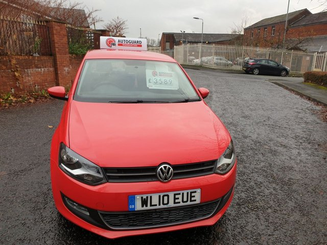 USED 2010 10 VOLKSWAGEN POLO 1.6 SEL TDI 5d 89 BHP A GREAT ECONOMICAL VEHICLE