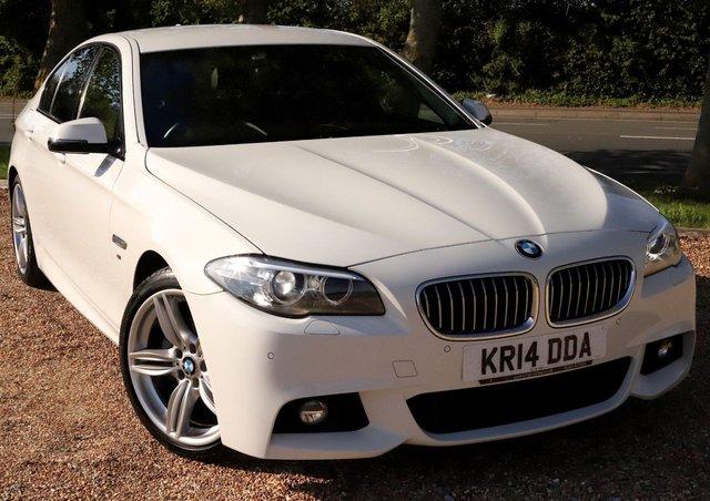 2014 14 BMW 5 SERIES 2.0 520D M SPORT STEP AUTO 4d 181 BHP AUTOMATIC