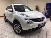 USED 2013 13 NISSAN JUKE 1.6 ACENTA PREMIUM 5d 117 BHP MULTIPLE AIRBAGS / ISOFIX / SATNAV / BLUETOOTH / CLIMATE CONTROL / REAR PARKING CAMERA / SERVICE HISTORY