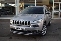 USED 2014 64 JEEP CHEROKEE 2.0 M-JET LIMITED 5d 138 BHP FINANCE TODAY WITH NO DEPOSIT