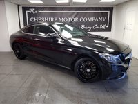 USED 2016 16 MERCEDES-BENZ C CLASS 2.0T C 200 SPORT 2d 181 BHP + SAT NAV + FULL LEATHER