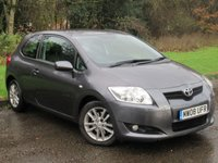 USED 2008 08 TOYOTA AURIS 2.0 TR D-4D 3d 125 BHP DUAL CLIMATE CONTROL, ALLOY WHEELS
