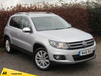 USED 2016 16 VOLKSWAGEN TIGUAN 2.0 MATCH EDITION TDI BMT 4MOTION 5d  * FOUR WHEEL DRIVE * ONE OWNER FROM NEW * SATELLITE NAVIGATION *