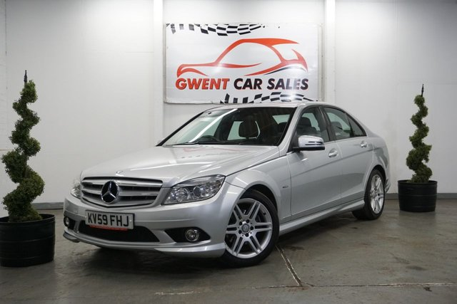 USED 2009 59 MERCEDES-BENZ C CLASS 2.1 C220 CDI BLUEEFFICIENCY SPORT 4d 170 BHP SERVICE HISTORY,, LONG MOT