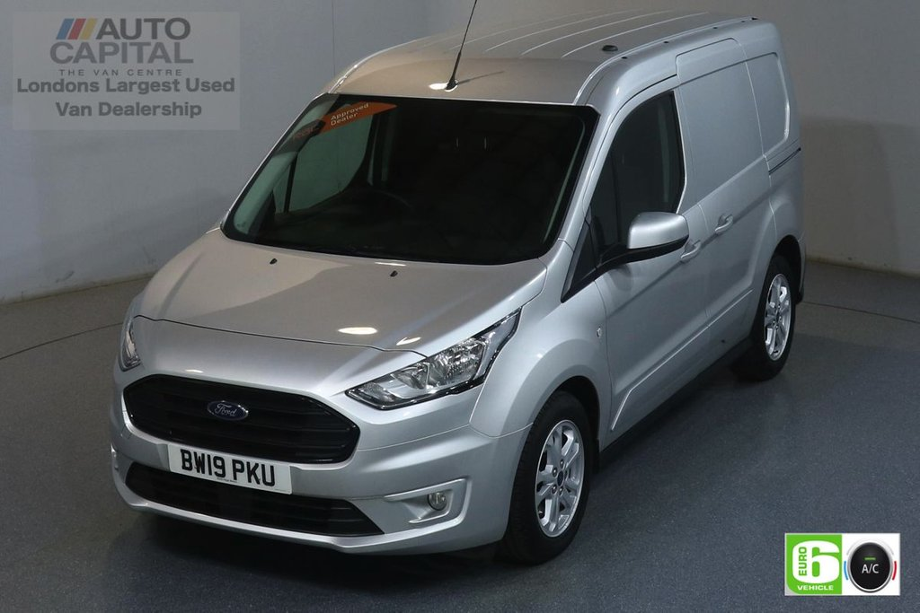 USED 2019 19 FORD TRANSIT CONNECT 1.5 200 LIMITED TDCI 119 BHP SWB EURO 6 ENGINE AIR CON, KEYLESS, PARKING SENSORS, HEATED FRONT SEATS, ALLOY WHEEL