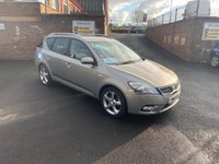 USED 2011 11 KIA CEED 1.6 CRDI 3 SW 5d 114 BHP * BLUETOOTH GREAT MPG *