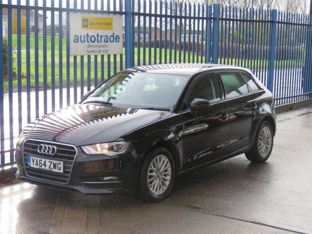 USED 2015 64 AUDI A3 1.6 TDI SE TECHNIK 5dr Sat nav Cruise Alloys DAB