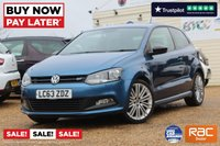 USED 2014 63 VOLKSWAGEN POLO 1.4 BLUEGT 3d 140 BHP