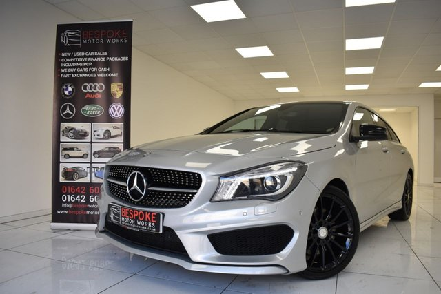 2016 65 MERCEDES-BENZ CLA 220 2.1 CDI AMG SPORT SHOOTING BRAKE