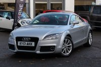 USED 2013 13 AUDI TT 2.0 TFSI 210PS S-TRONIC SPORT 2DR COUPE LOW MILEAGE * SAT-NAV * AUTOMATIC *