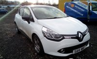 USED 2014 14 RENAULT CLIO 1.1 DYNAMIQUE MEDIANAV 5d 75 BHP LONG MOT AND EXCELLENT SERVICE HISTORY - HIGH SPEC RENAULT CLIO WITH SAT NAV, BLUETOOTH, AIR CON, CRUISE CONTROL!