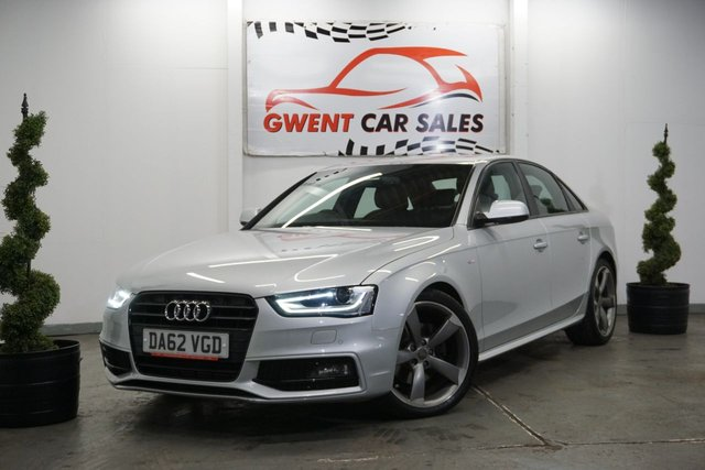 USED 2013 62 AUDI A4 2.0 TDI BLACK EDITION 4d 141 BHP ONLY 52K, GREAT EXAMPLE, D.R.L'S